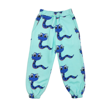 Banana Valentine Snakes Sweatpants on Design Life Kids