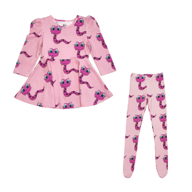 Banana Valentine Tights on Design Life Kids
