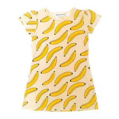 Gardner and the Gang Bananas Dress on DLK | designlifekids.com