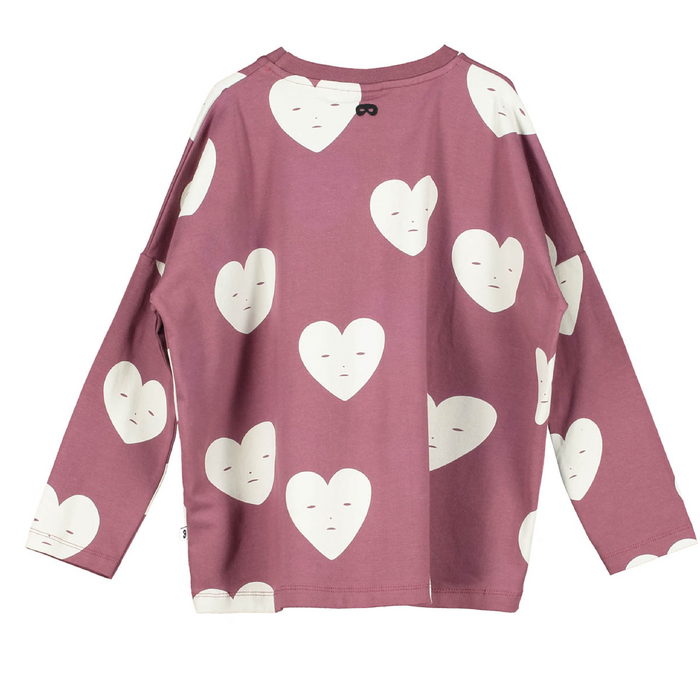 Beau Loves  Hearts Shirt on Design Life Kids