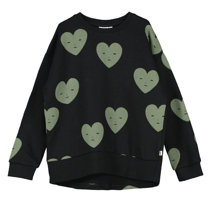 Beau Loves  Hearts Sweatshirt on Design Life Kids