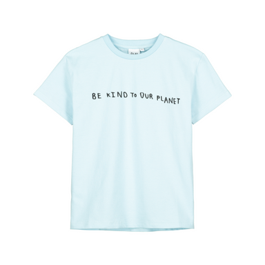 Beau Loves Be Kind to Our Planet Tee on Design Life Kids