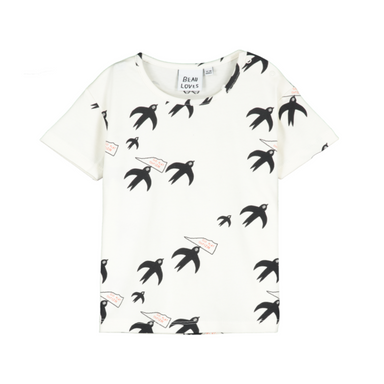 Beau Loves Bird Shirt on Design Life Kids