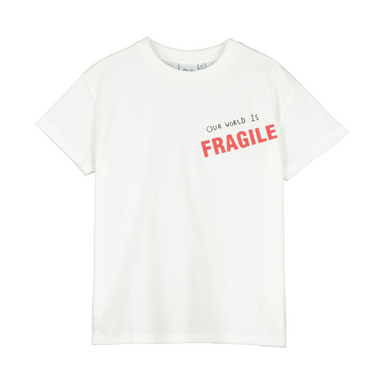 Beau Loves Our World Is Fragile Tee on Design Life Kids