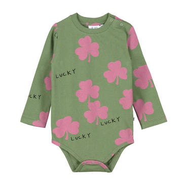 Beau Loves Lucky Bodysuit on Design Life Kids