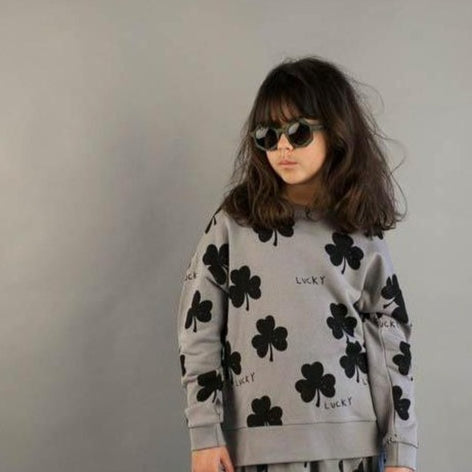Beau Loves Lucky Relaxed Sweatshirt on Design Life Kids