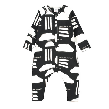 Beau Loves  Rain Romper on Design Life Kids