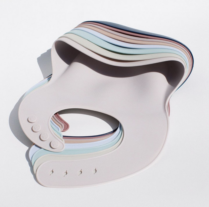 Bibito Modern Silicone Bib on Design Life Kids