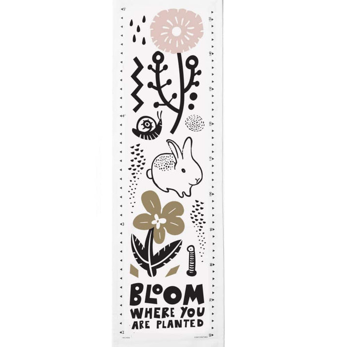 Wee Gallery Bloom Growth Chart on DLK | designlifekids.com