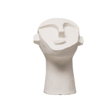 Bloomingville Ceramic Face Sculpture on Design Life Kids