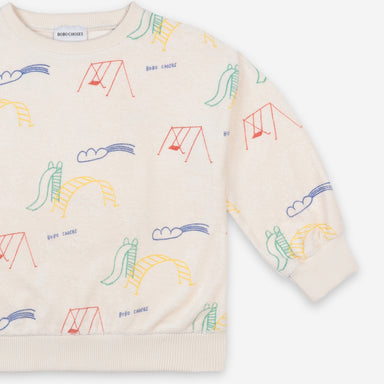 Bobo Choses Playground Terry Sweatshirt on Design Life Kids