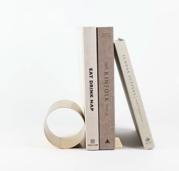 Brass Bookend on Design Life Kids