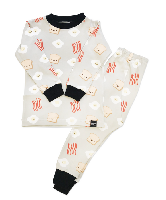 Whistle & Flute Breakfast Pajamas on DLK | designlifekids.com