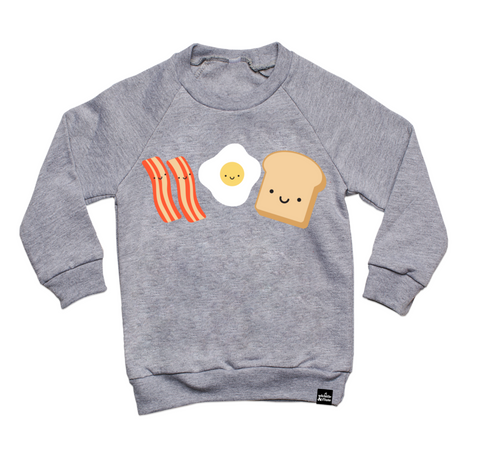 Whistle & Flute Breakfast Sweatshirt on DLK | designlifekids.com