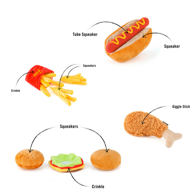 PLAY American Foods Pet Toys on Design Life Kids