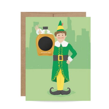 Buddy the Elf Greeting Card on Design Life Kids