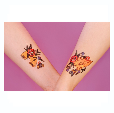 Tattly Mac and Cheese Tattoos at Design Life Kids