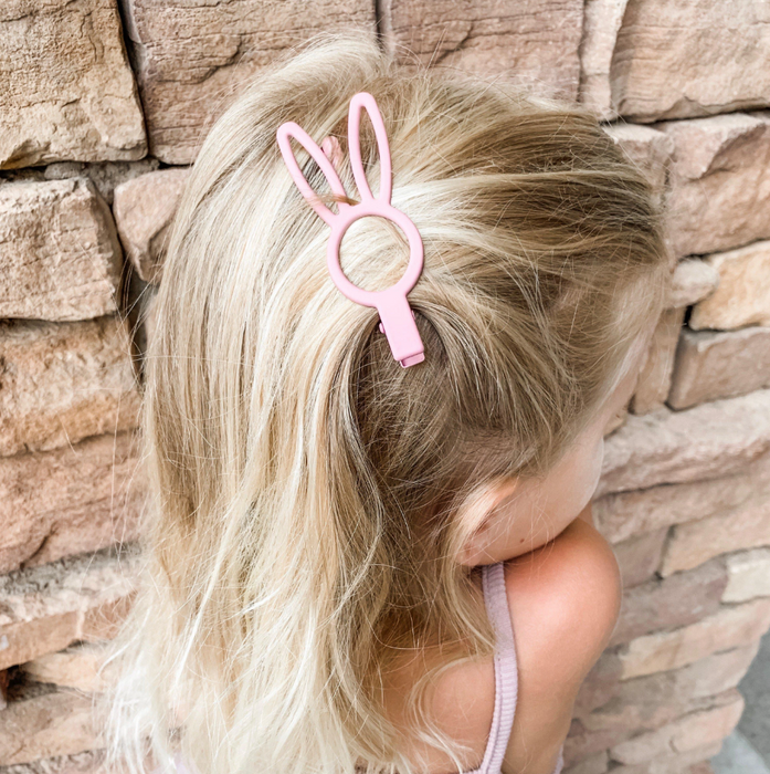 Miss Mimi Miminoo Bunny Rabbit Hair Clip at Design Life Kids