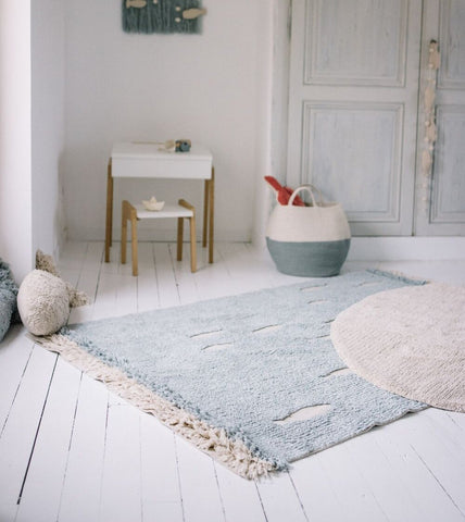 ,Lorena Canals Ocean Shore Washable Rug on DLK | designlifekids.com