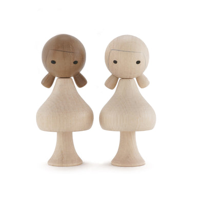 Clicques Toys Magnetic Wooden Dolls on Design Life Kids