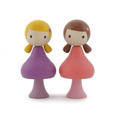 Clicques Toys Wooden Magnetic Dolls on Design Life Kids