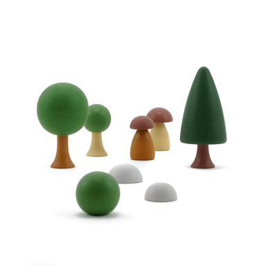 Clicques Toys Magnetic Wooden Summer Garden Trees on Design Life Kids