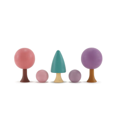 Clicques Toys Magnetic Wooden Spring Garden Trees on Design Life Kids