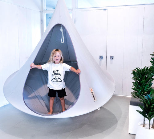 Cacoon USA Hanging Tents on DLK | designlifekids.com