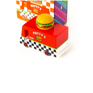 Candylab Hamburger Van Candycar Toy on Design Life Kids