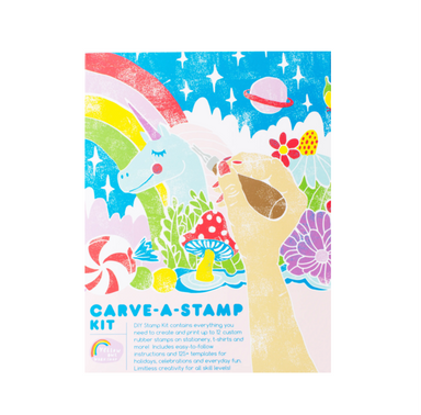 Yellow Owl Workshop DIY Carve A Stamp Kit on Design Life Kids
