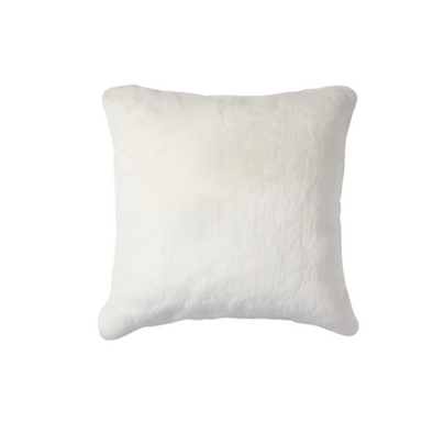 Chinchilla Faux Fur Pillow on Design Life Kids