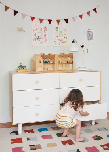 Oeuf NYC Dressers on Design Life Kids