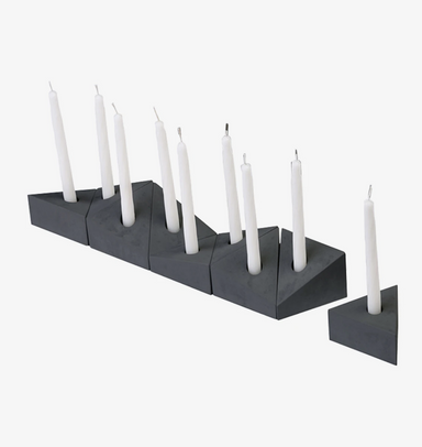 Concrete Menorah on Design Life Kids