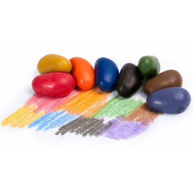 All Natural Soy Crayon Rocks on Design Life Kids
