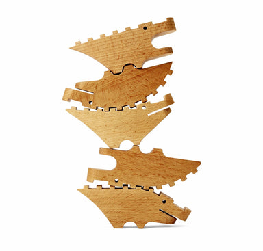 Areaware Croc Pile Blocks on DLK | designlifekids.com