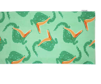 Crocodile Towel on Design Life Kids