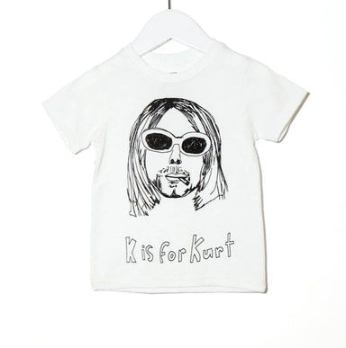 Anchors n Asteroids Kurt Cobain shirt for kids on Design Life Kids
