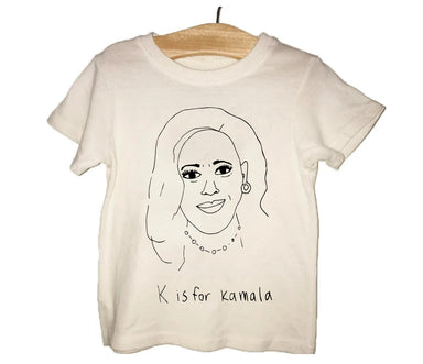 Anchors and Asteroids K is for Kamala Tee on Design Life Kids