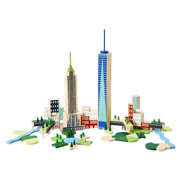 Areaware Blockitecture New York City Big Apple on Design Life Kids