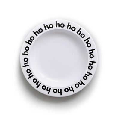 Buddy and Bear Ho Ho Ho Plate on Design Life Kids
