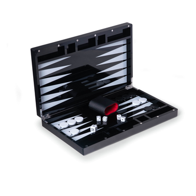 Acrylic Backgammon Set on Design Life Kids