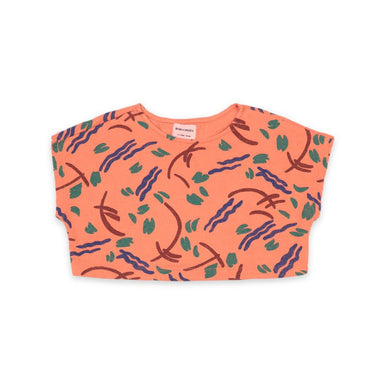Bobo Choses Strokes All Over Cropped Sweatshirt on Design Life Kids
