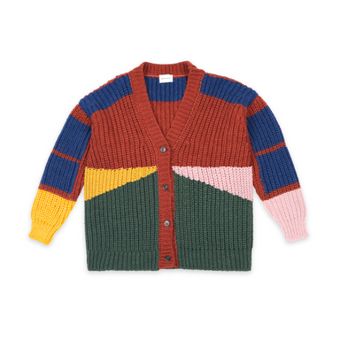 Bobo Choses Jacquard Knit Cardigan Design Life Kids