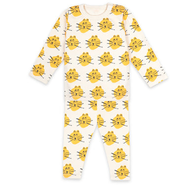 Bobo Choses Baby Cat Pajamas on Design Life Kids