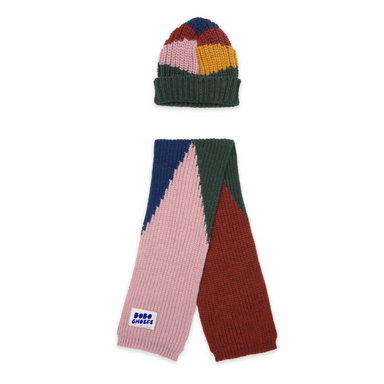 Bobo Choses Scarf and Beanie Set on Design Life Kids