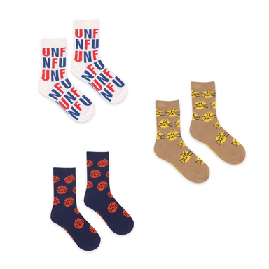 Bobo Choses Fun Cat Sock Set on Design Life Kids