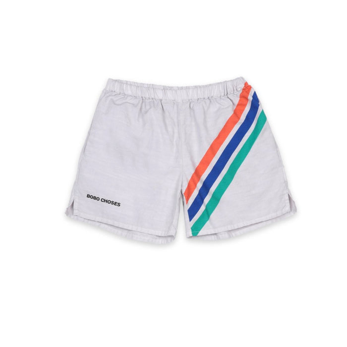 Bobo Choses Striped Woven Shorts on Design Life Kids