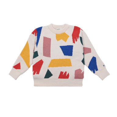 Bobo Choses Shadows Knitted Jumper on Design Life Kids