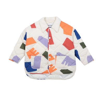 Bobo Choses Abstract Quilted Jacket on Design Life Kids