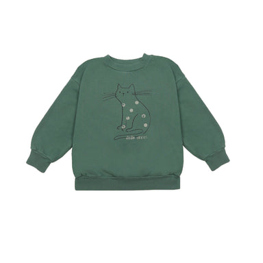 Bobo Choses Cat Sweatshirt on Design Life Kids